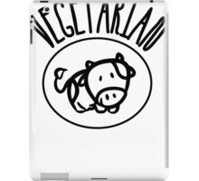 Vegetarian iPad Case/Skin