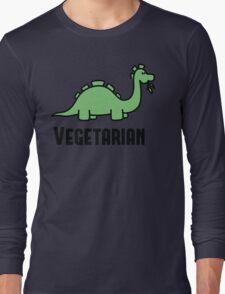Vegetarian Long Sleeve T-Shirt