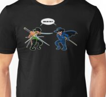 Zoro et Zorro : La rencontre ! Unisex T-Shirt