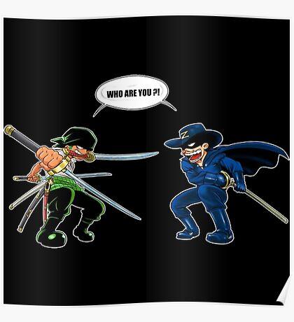 Zoro et Zorro : La rencontre ! Poster