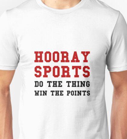 Hooray Sports Win Points Unisex T-Shirt