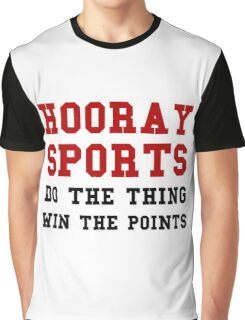 Hooray Sports Win Points Graphic T-Shirt