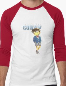 Detective Conan Cartoon Men's Baseball ¾ T-Shirt