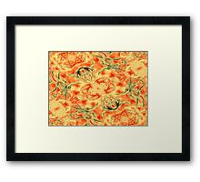 Blossoms In My Garden Framed Print