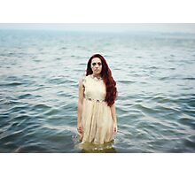 The Girl in the Ocean Photographic Print