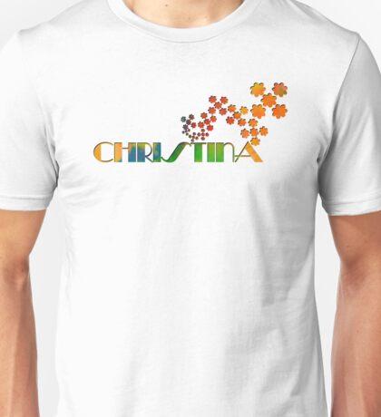 The Name Game - Christina Unisex T-Shirt