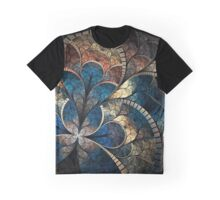 Clocks Pattern Graphic T-Shirt