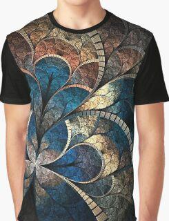 Clocks Pattern Graphic T-Shirt