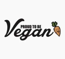 Proud to be vegan Kids Clothes