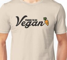 Proud to be vegan Unisex T-Shirt