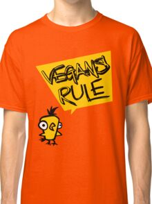 Vegans rule Classic T-Shirt