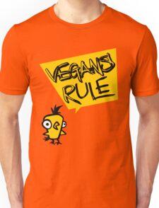 Vegans rule Unisex T-Shirt