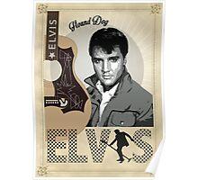 """""""Hound Dog"""" Elvis Presley Poster"""
