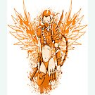 Angel of The Sky Vintage Retro Classic by sastrod8