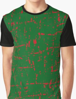 Green and red design by Moma Graphic T-Shirt