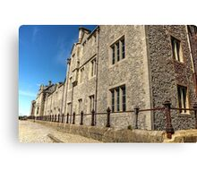 Officers' Mess Building at Dover Castle Canvas Print