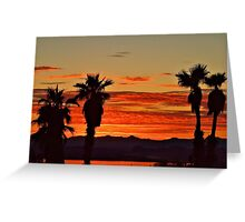 Lake Havasu Evening Greeting Card