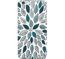 Blue Dahlia Flower iPhone Case/Skin