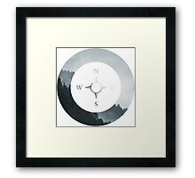 Forest Compass Framed Print