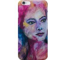 Colourful portrait iPhone Case/Skin
