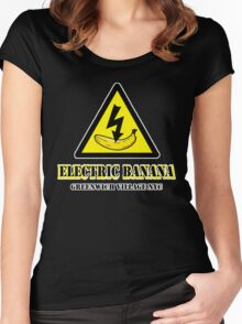 ELECTRIC BANANA CLUB Women's Fitted Scoop T-Shirt