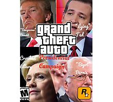 Grand Theft Auto: Presidential Candidates Photographic Print