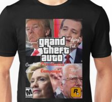 Grand Theft Auto: Presidential Candidates Unisex T-Shirt