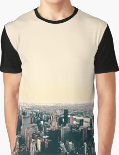City skyline Graphic T-Shirt