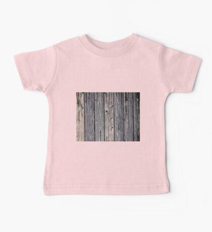 Wood Pattern 3 Baby Tee