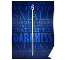 Gandalf Quote Poster