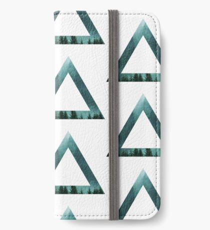 Forest Triangle iPhone Wallet/Case/Skin