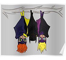 The Bat-girls Poster
