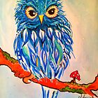 Little Blue Owlie ! by jonkania
