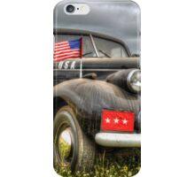 Classic Military Staff Car iPhone Case/Skin