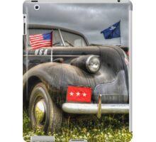 Classic Military Staff Car iPad Case/Skin