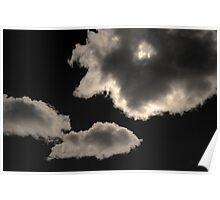 Cloudscape XVI Toned Poster