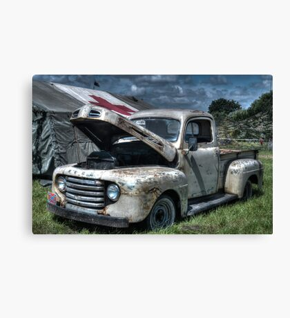Classic Ford Truck Canvas Print