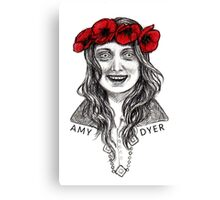 Amy Dyer Canvas Print