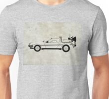Back to the Future DeLorean Unisex T-Shirt