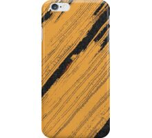 Abstract line art, grunge mixed pattern 2 iPhone Case/Skin