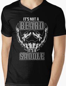 its not a beard  Mens V-Neck T-Shirt