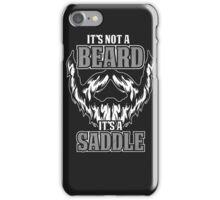 its not a beard  iPhone Case/Skin