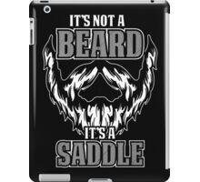 its not a beard  iPad Case/Skin