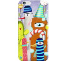 Merry Christmas Cold Snow iPhone Case/Skin