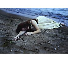 The Girl in the Ocean iii Photographic Print