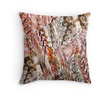 Abstract Design Colours Throw Pillow