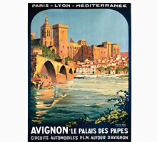 Avignon, French Travel Poster Unisex T-Shirt