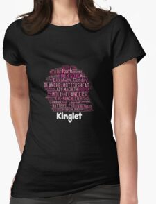 2014 Kinglet with Kingston sihloutte in black Womens Fitted T-Shirt