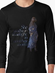She walks in Starlight... Long Sleeve T-Shirt
