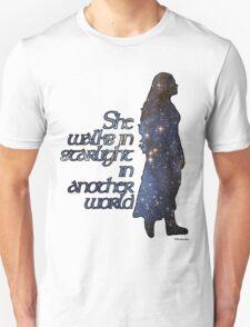 She walks in Starlight... Unisex T-Shirt